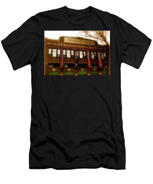 Baseballs Classic  V Bostons Fenway Park Men's T-Shirt (Athletic Fit)
