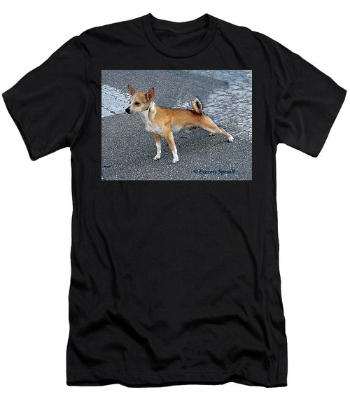 Basenji 2 Men's T-Shirt (Athletic Fit)