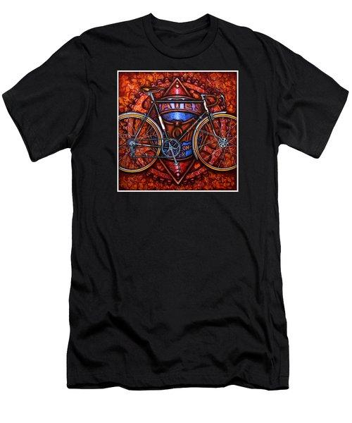 Bates Bicycle Men's T-Shirt (Athletic Fit)