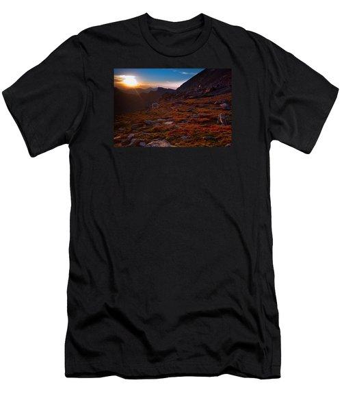 Bathing In Last Light Men's T-Shirt (Slim Fit) by Jim Garrison