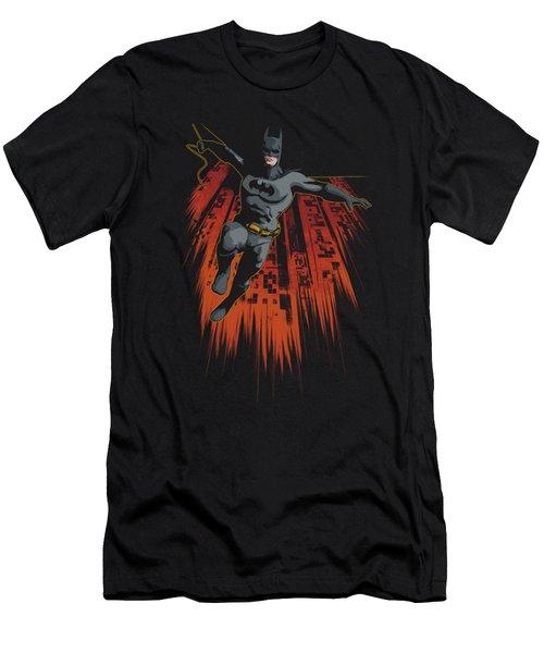 Batman - Majestic Men's T-Shirt (Athletic Fit)