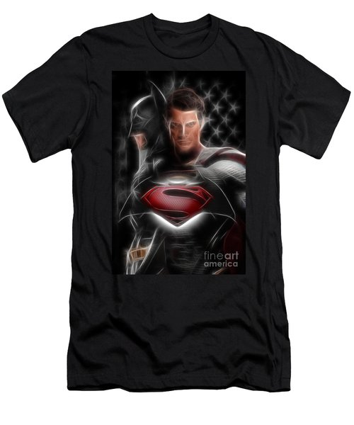 Batman Vs Superman  Men's T-Shirt (Athletic Fit)