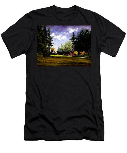 Battle Ground Park Men's T-Shirt (Athletic Fit)