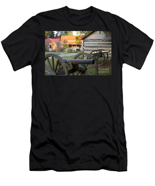 Men's T-Shirt (Athletic Fit) featuring the photograph Battle Of Franklin by Brian Jannsen