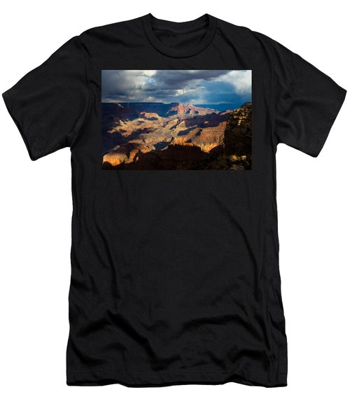 Battleship Rock In The Shadows Men's T-Shirt (Athletic Fit)