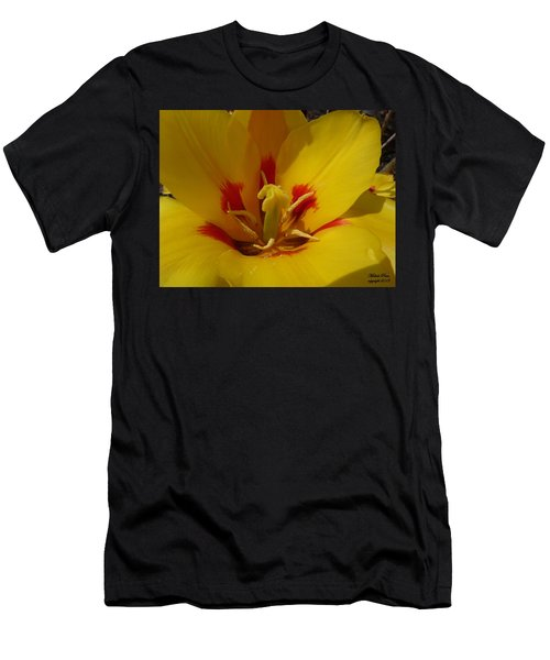Be Drawn In - Signed Men's T-Shirt (Athletic Fit)