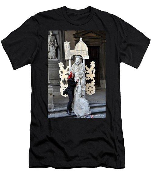 Be Mime Men's T-Shirt (Athletic Fit)