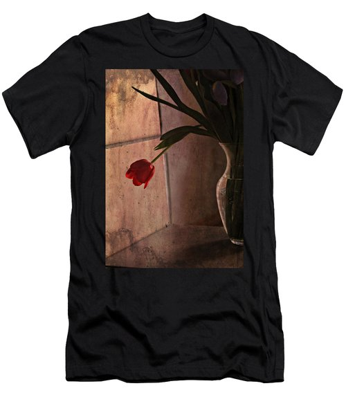 Men's T-Shirt (Slim Fit) featuring the photograph Be My Valentine by Katie Wing Vigil