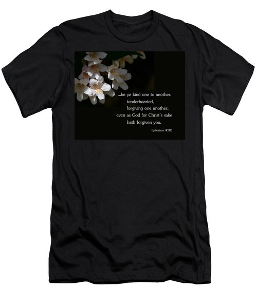 Men's T-Shirt (Slim Fit) featuring the photograph Be Ye Kind by Larry Bishop