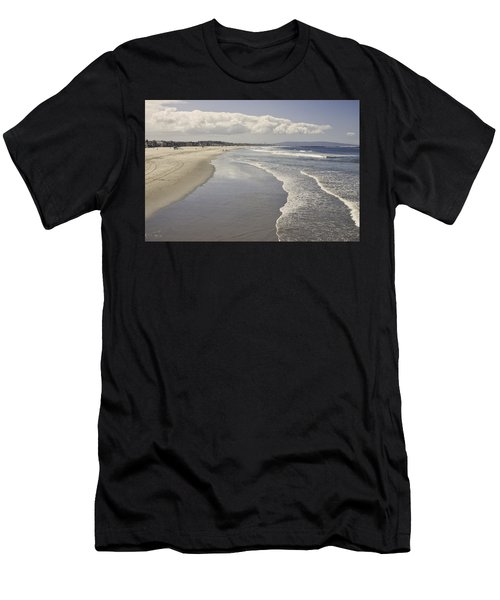 Beach At Santa Monica Men's T-Shirt (Athletic Fit)
