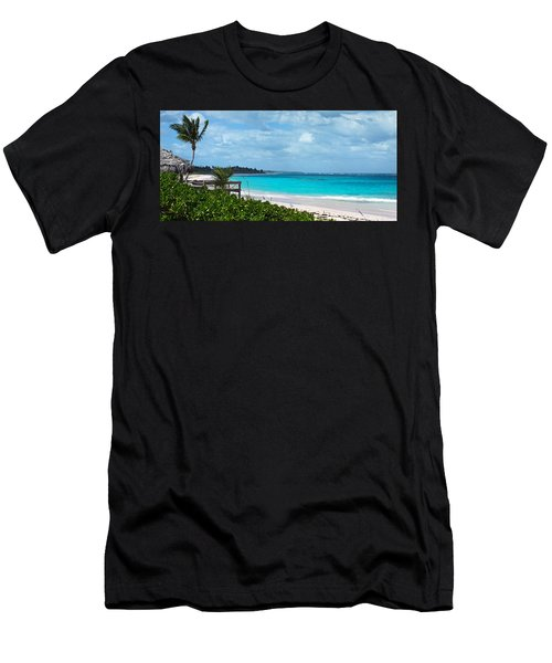 Beach At Tippy's Men's T-Shirt (Athletic Fit)