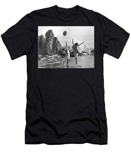 Beach Ball Dancing Men's T-Shirt (Athletic Fit)