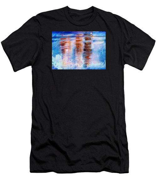 Beach Colors Men's T-Shirt (Athletic Fit)