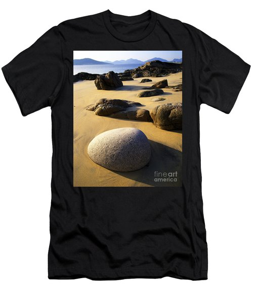 Beach Of Gold Men's T-Shirt (Athletic Fit)