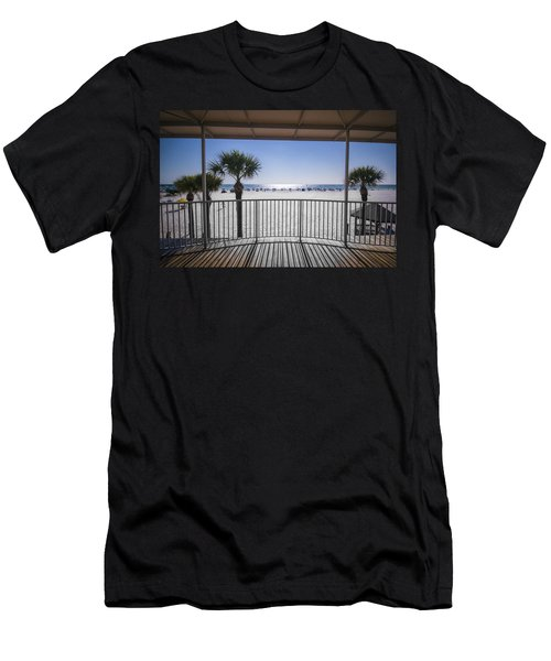 Beach Patio Men's T-Shirt (Athletic Fit)
