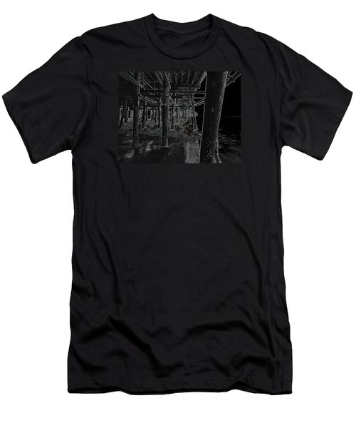 Beach Pier  Underworld  Men's T-Shirt (Athletic Fit)