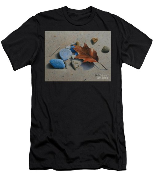 Beach Still Life II Men's T-Shirt (Athletic Fit)