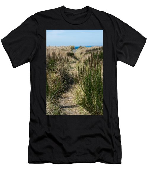 Beach Trail Men's T-Shirt (Athletic Fit)