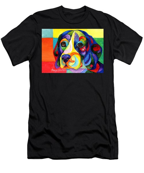 Beagle Men's T-Shirt (Athletic Fit)