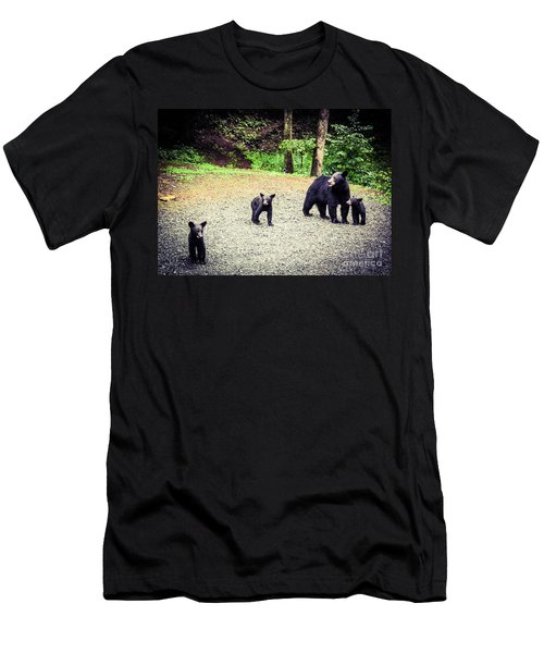 Bear Family Affair Men's T-Shirt (Athletic Fit)
