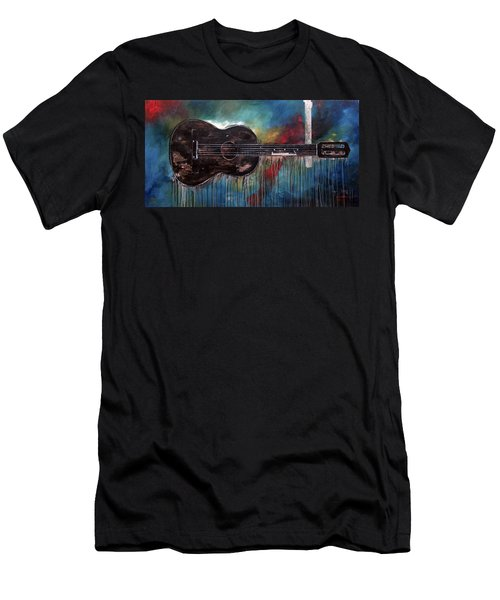 Bob Marley's First Men's T-Shirt (Athletic Fit)