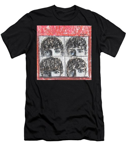 Beatles Hard Day's Night Men's T-Shirt (Athletic Fit)
