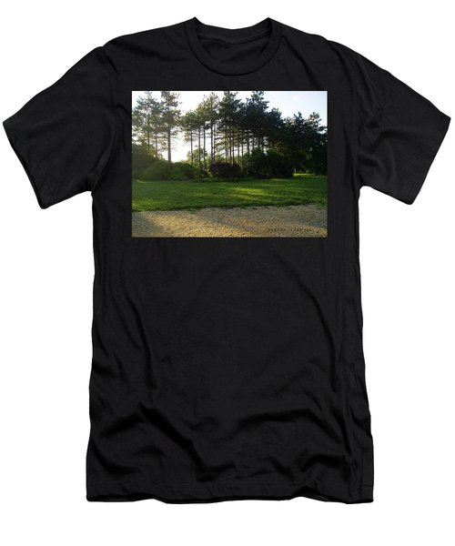 Men's T-Shirt (Slim Fit) featuring the photograph Beautiful Earth by Verana Stark