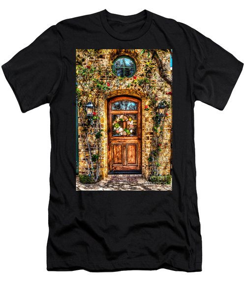 Beautiful Entry Men's T-Shirt (Athletic Fit)