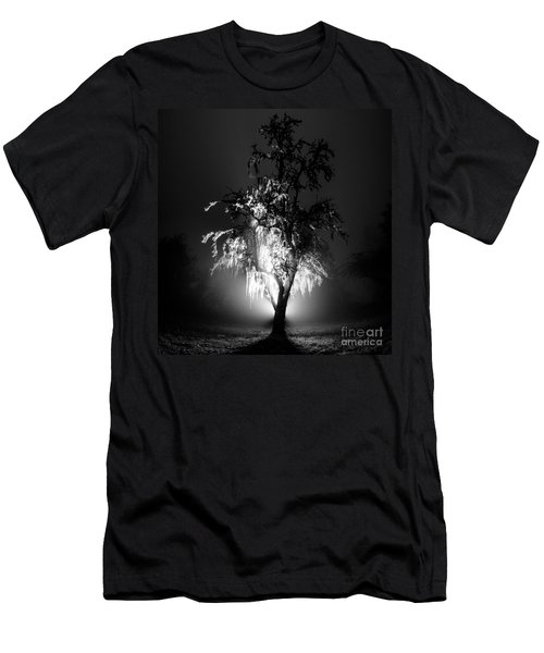 Beautiful Foggy Night 1 Men's T-Shirt (Athletic Fit)
