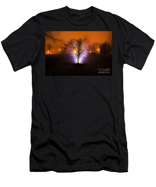 Beautiful Foggy Night 2 Men's T-Shirt (Athletic Fit)