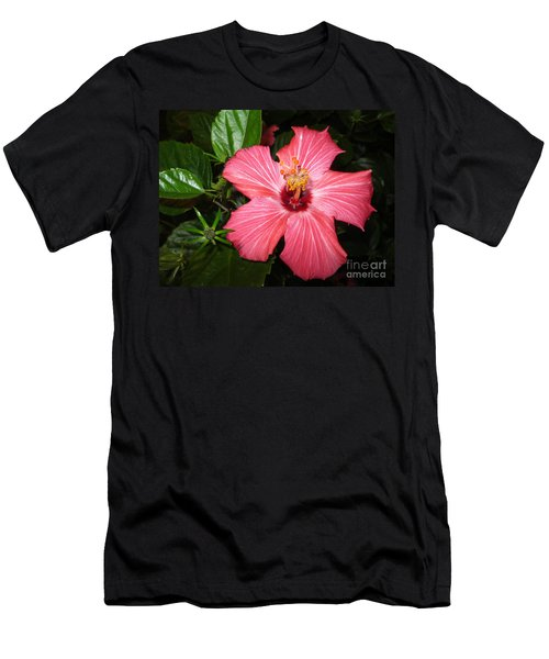 Beautiful Hibiscus Men's T-Shirt (Athletic Fit)
