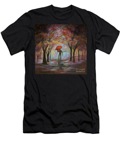 Beautiful Romance Men's T-Shirt (Athletic Fit)