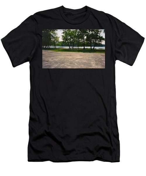 Beautiful Scene From God Men's T-Shirt (Athletic Fit)