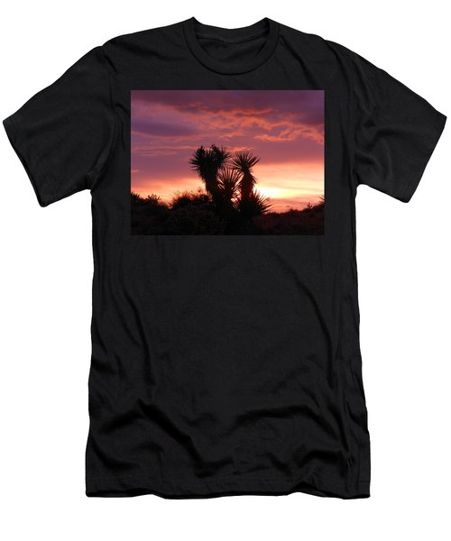 Beautiful Sunset In Arizona Men's T-Shirt (Athletic Fit)