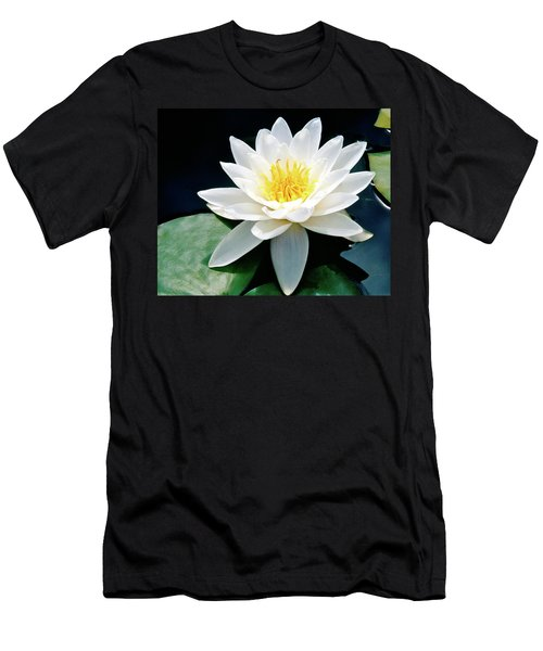 Beautiful Water Lily Capture Men's T-Shirt (Athletic Fit)