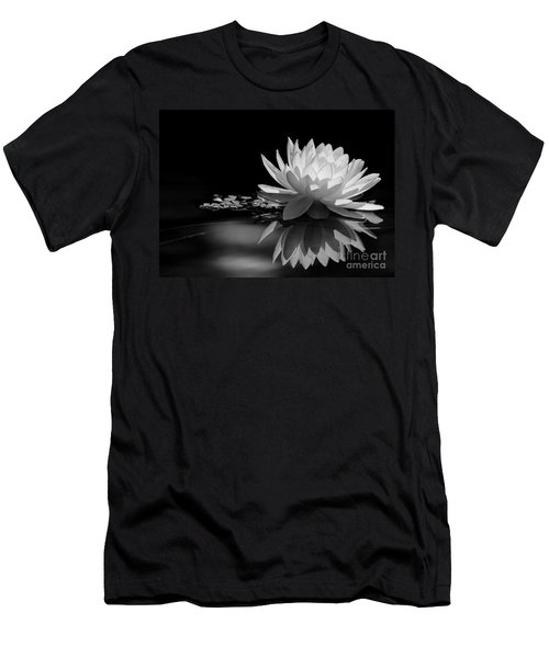 Beautiful Water Lily Reflections Men's T-Shirt (Athletic Fit)