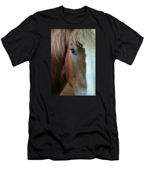 Men's T-Shirt (Athletic Fit) featuring the photograph Beautiful Within Him Was The Spirit - 2 by Linda Shafer