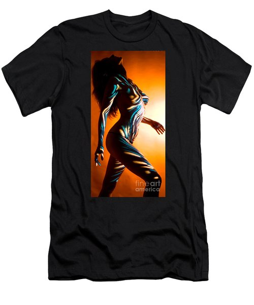 Beauty In Light Men's T-Shirt (Slim Fit) by Tbone Oliver
