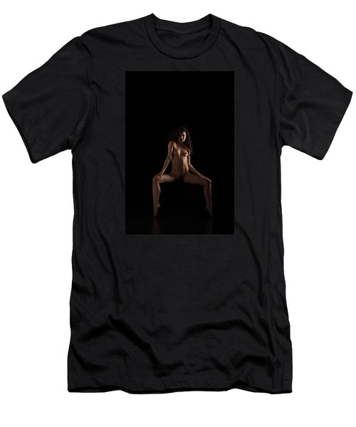 Men's T-Shirt (Slim Fit) featuring the photograph Beauty In The Balance by Mez