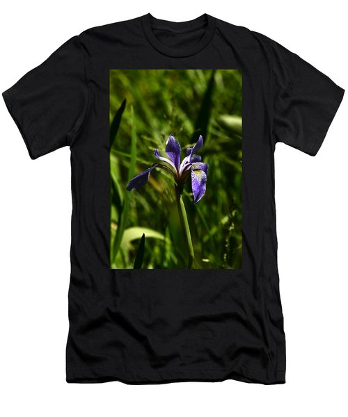 Beauty In The Grass Men's T-Shirt (Athletic Fit)