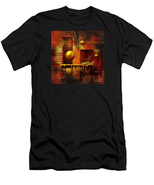 Beauty Of An Illusion Men's T-Shirt (Athletic Fit)