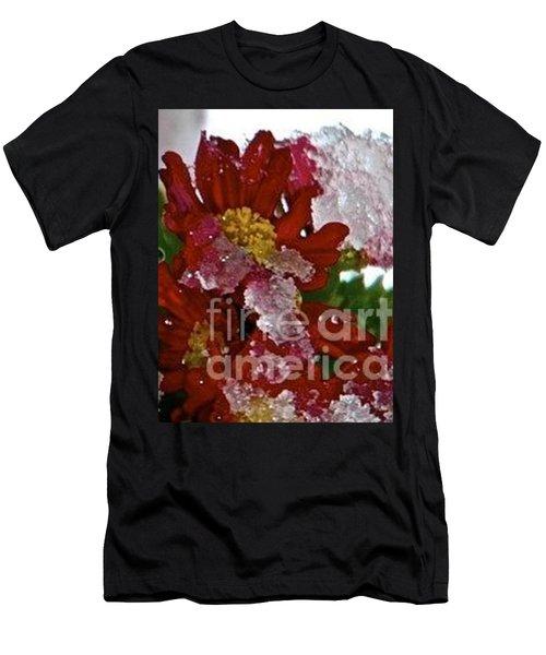 Beauty Under Ice Men's T-Shirt (Athletic Fit)
