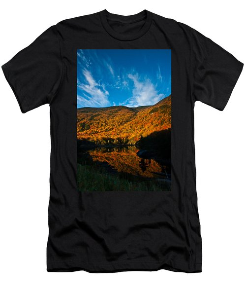 Beaver Pond White Mountain National Forest Men's T-Shirt (Athletic Fit)