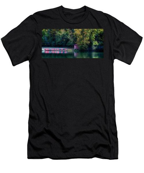 Beavers Bend Reflection Men's T-Shirt (Athletic Fit)