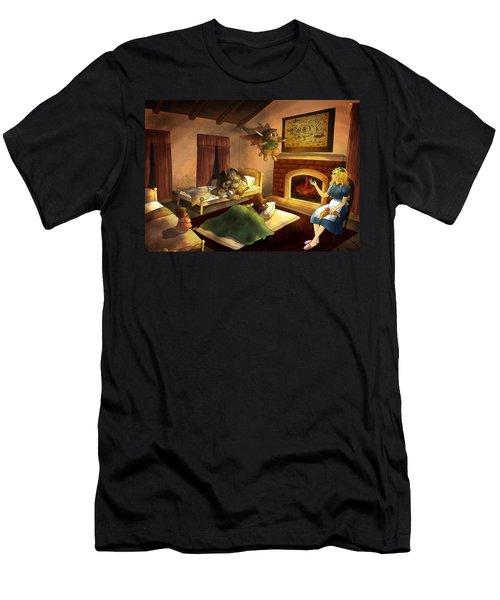 Bedtime Men's T-Shirt (Athletic Fit)