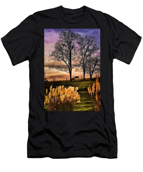 Bedtime Snackin Men's T-Shirt (Slim Fit) by Robert McCubbin