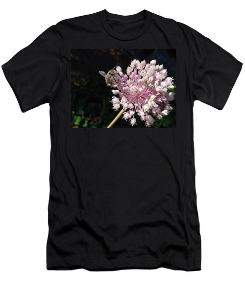 Bee And Allium Men's T-Shirt (Athletic Fit)