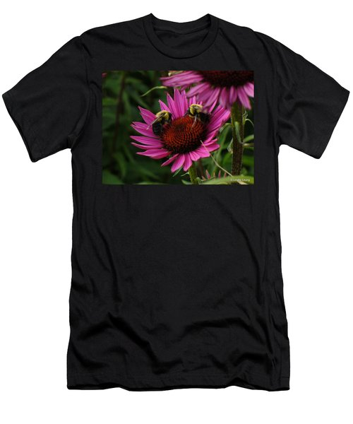 Men's T-Shirt (Slim Fit) featuring the photograph Beelievers by Lingfai Leung