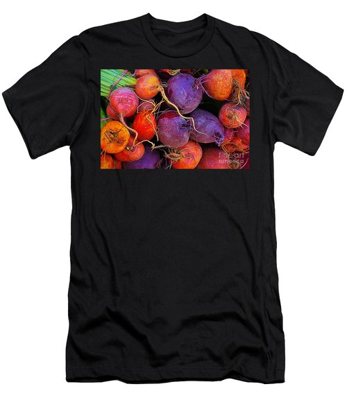 Men's T-Shirt (Slim Fit) featuring the photograph Beets Me  by John S
