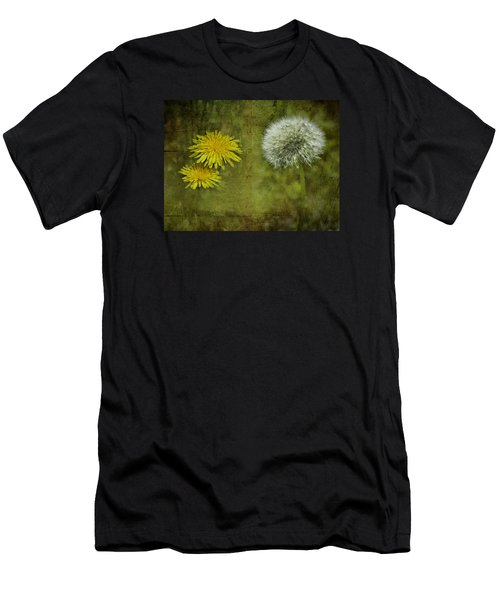 Before And After Dandelions Men's T-Shirt (Athletic Fit)